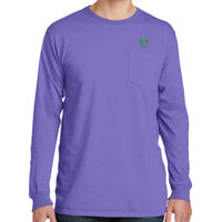 MYC - Pigment Dyed Long Sleeve Pocket Tee Thumbnail