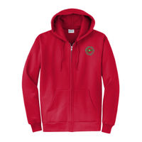 MYC - Core Fleece Full Zip Hooded Sweatshirt - PC78ZH Thumbnail