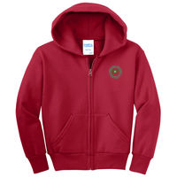 MYC - Youth Core Fleece Full Zip Hooded Sweatshirt - PC90YZH Thumbnail