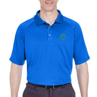 MYC - Adult Cool & Dry Sport Shoulder Block Polo - 8409 Thumbnail